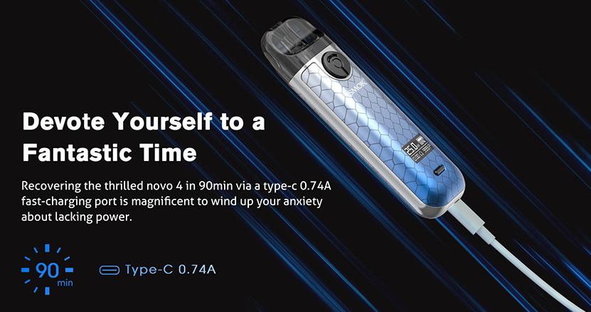 Smok Novo 4 Kit charge