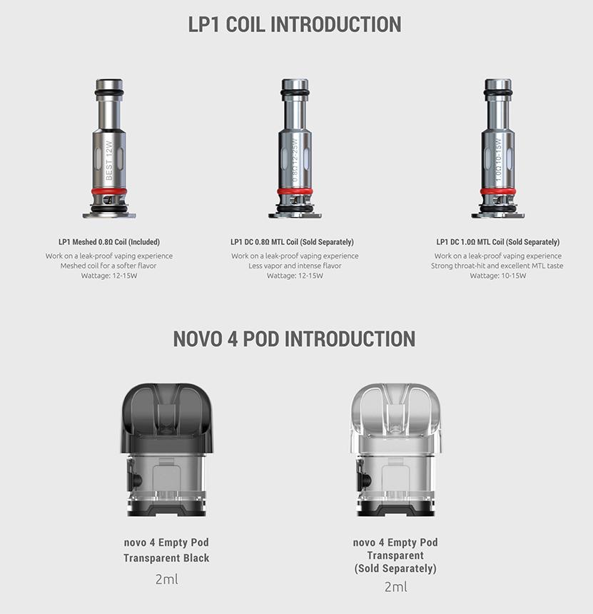 Smok Novo 4 Kit coil