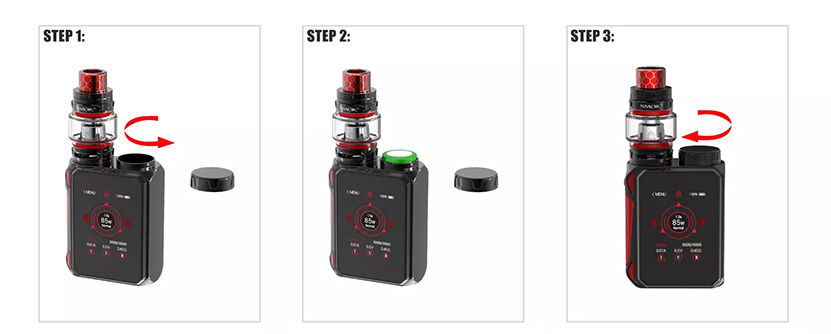 SMOK G-Priv Baby Luxe Edition Kit Feature 2