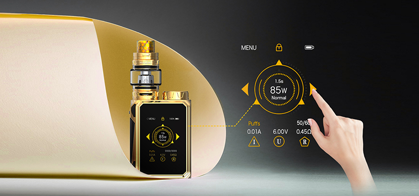 SMOK G-Priv Baby Luxe Edition Kit Feature 8