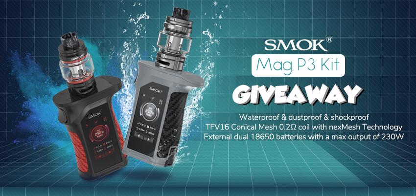 SMOK MAG P3 Kit Giveaway