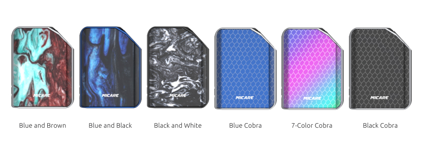 SMOK MICARE Vape Mod Colors