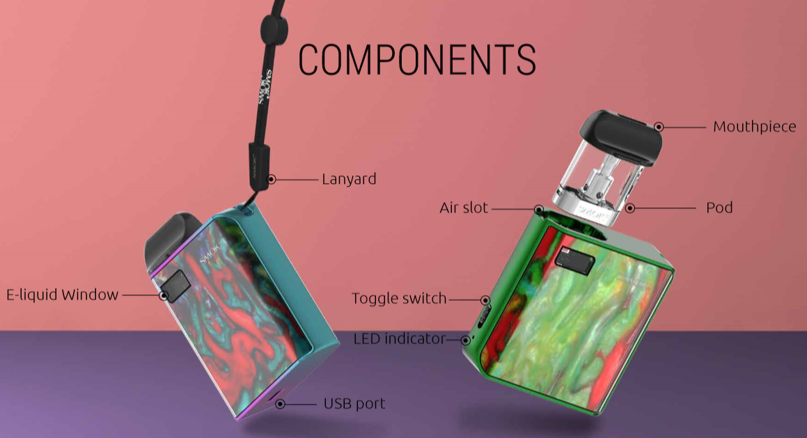 SMOK MICO Pod Kit Features 03