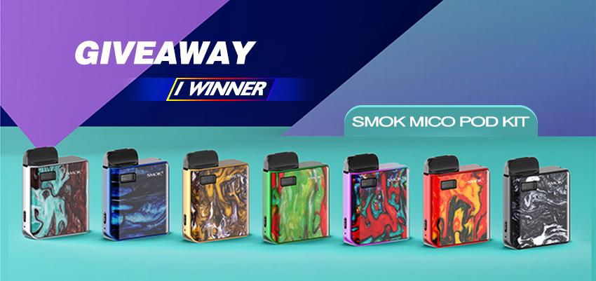 SMOK MICO Pod Kit Giveaway