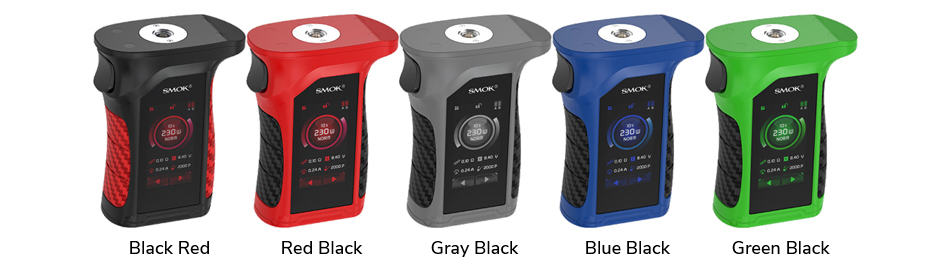 Mag P3 230W Touch Screen TC Box Mod Colors