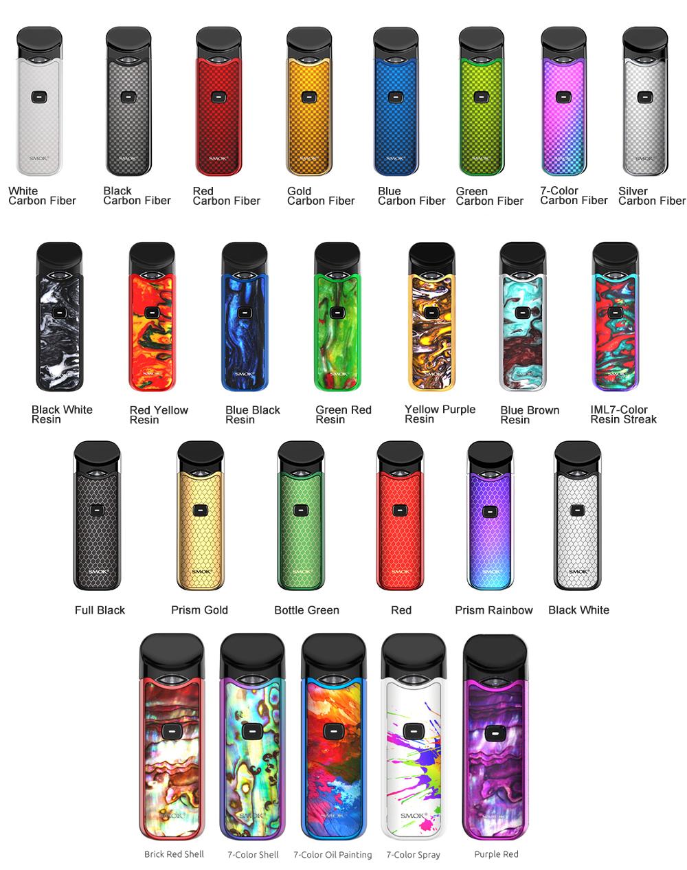 SMOK Nord Kit Carbon Fiber 21 Colors