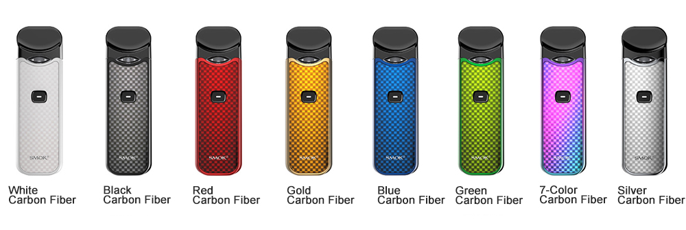 SMOK Nord Kit Carbon Fiber 8 Colors