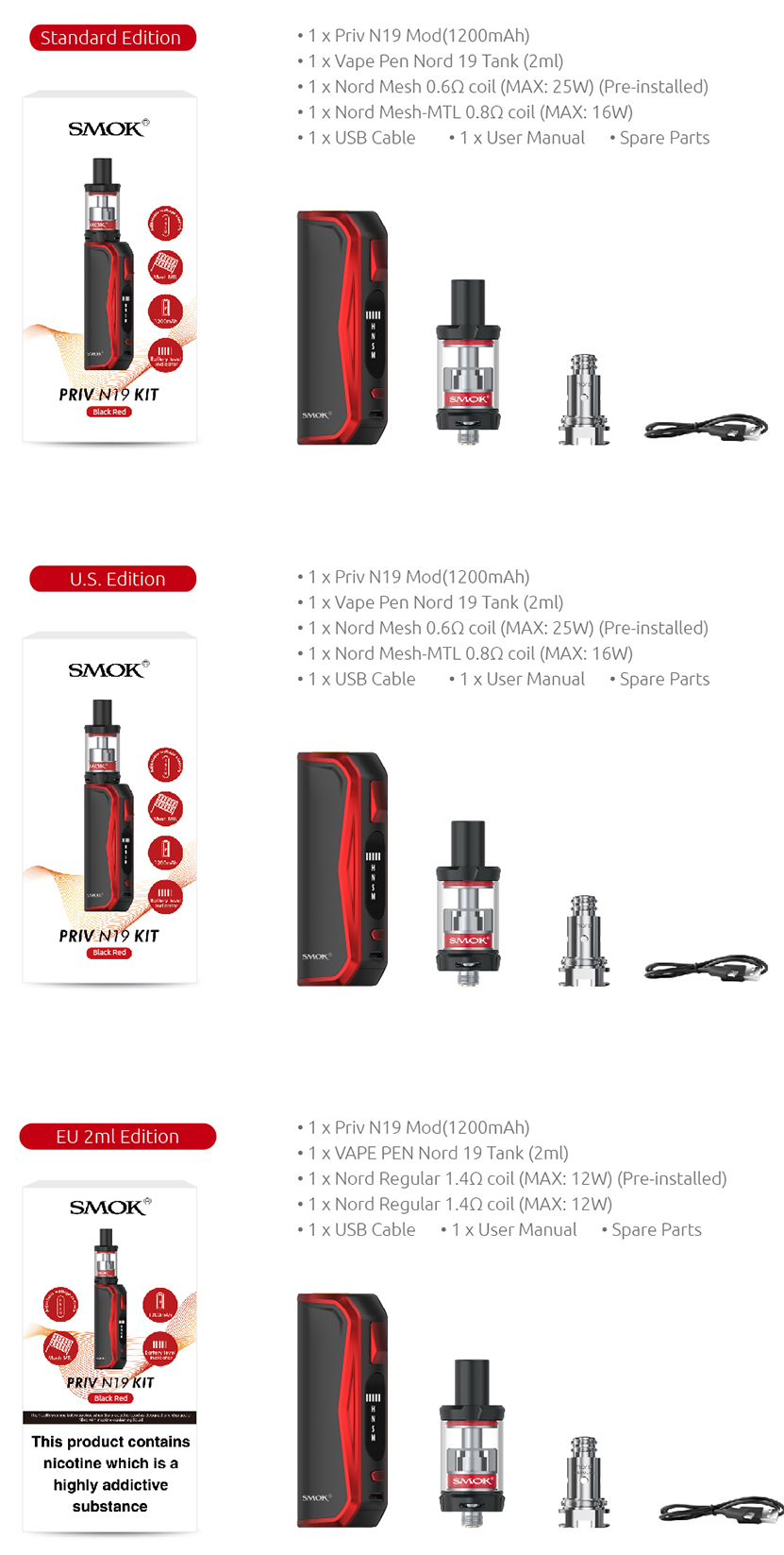 SMOK Priv N19 Kit Features 01