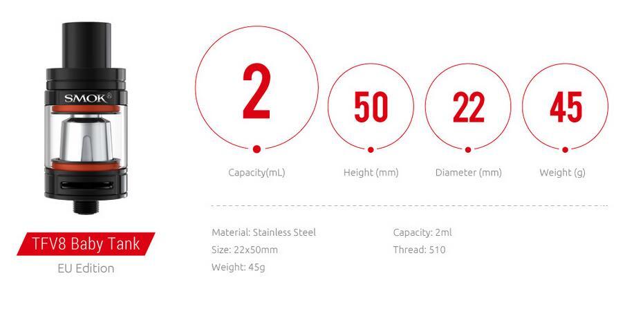 SMOK RHA85 Kit TPD Editon Features 5