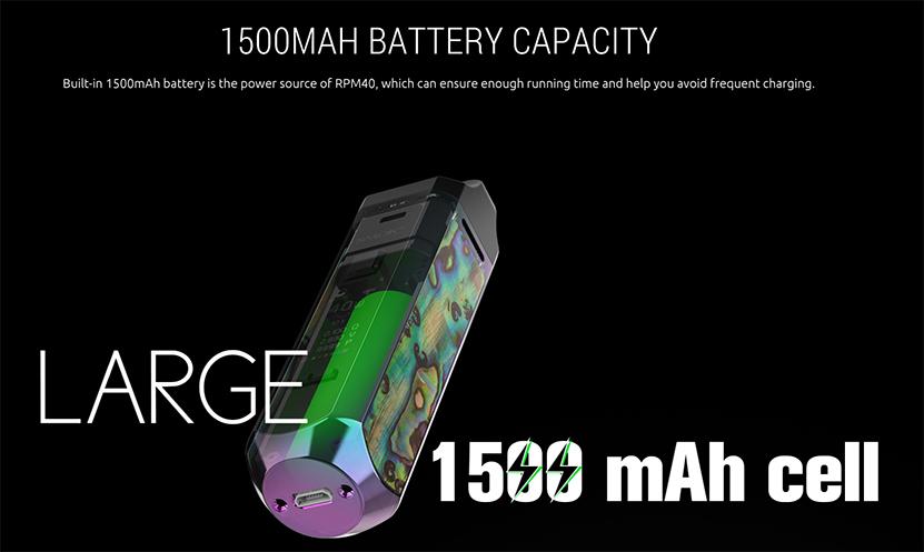 SMOK RPM40 Pod Kit Battery