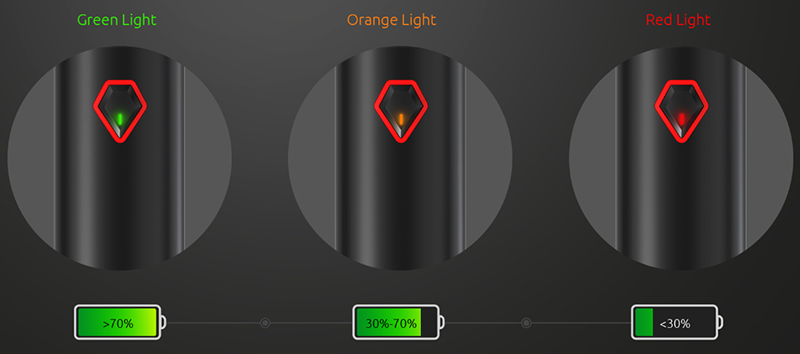 SMOK Stick V9 LED Indicator