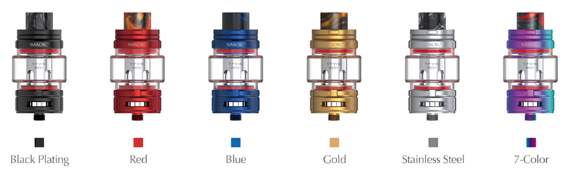 SMOK TFV16 Vape Tank Colors