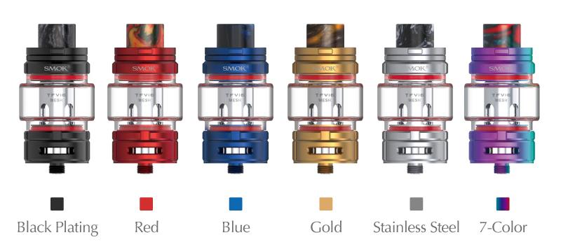 SMOK TFV16 Sub Ohm Tank Colors
