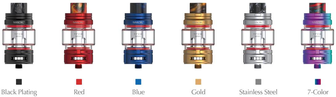SMOK TFV16 Vape Tank Colors