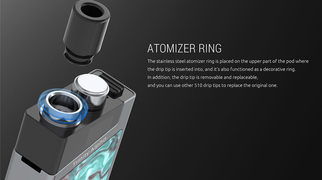 SMOK Trinity Alpha Kit Ring