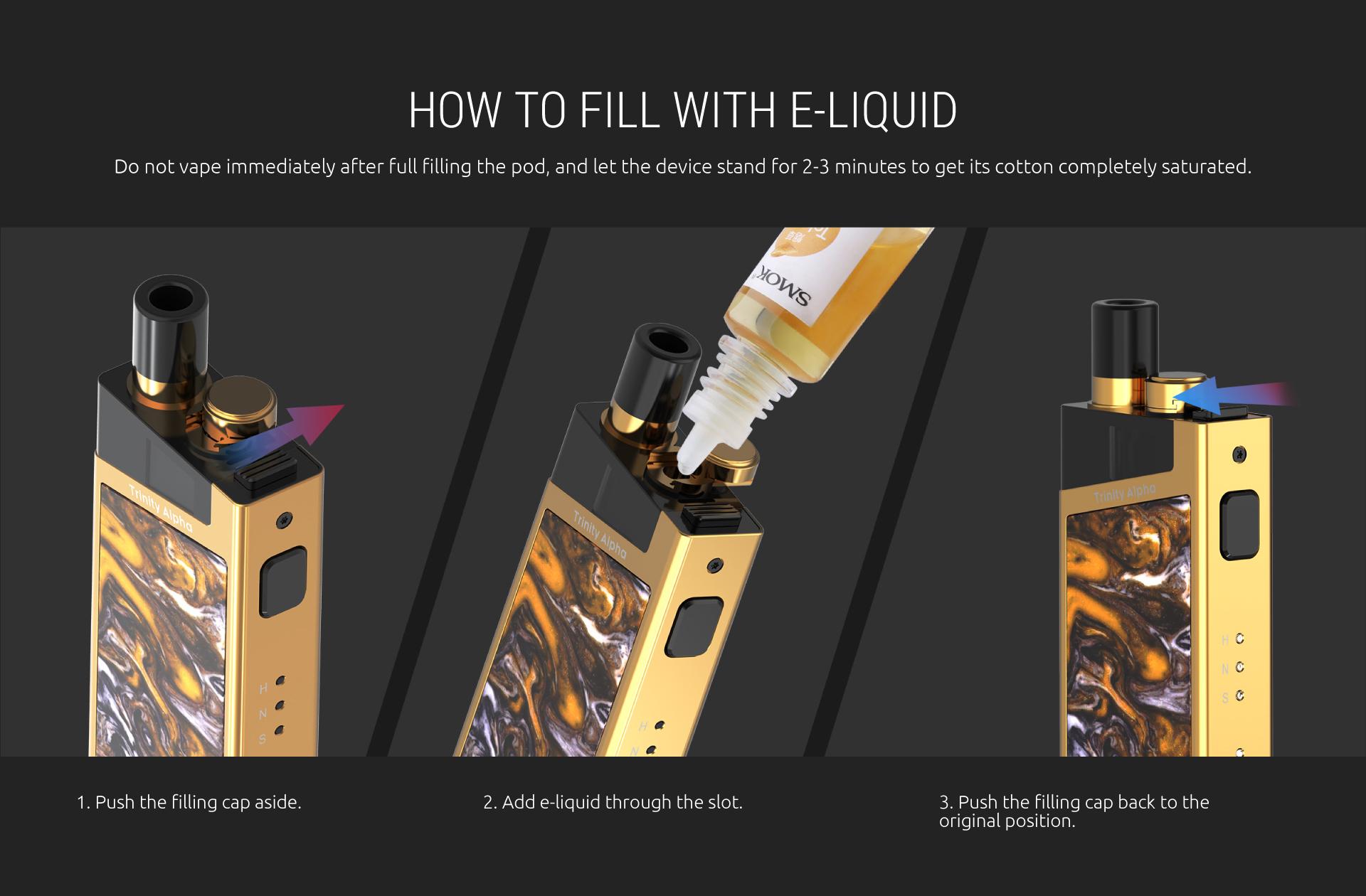SMOK Trinity Alpha Pod System Kit E-juice System