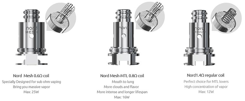 Vape Pen Nord 19 Vape Tank Features 02
