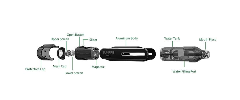 SUNVAPE Sunpipe H20 Bubbler Overview