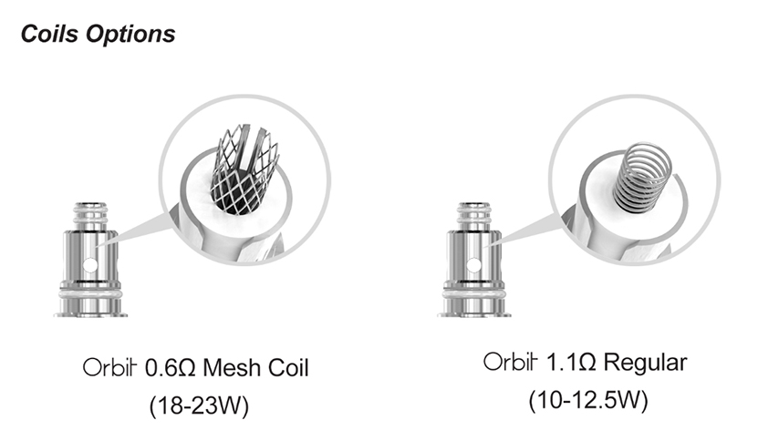 Sense Orbit TF Vape Kit Coil