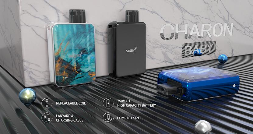 Smoant Charon Baby Pod System Vape Kit Feature
