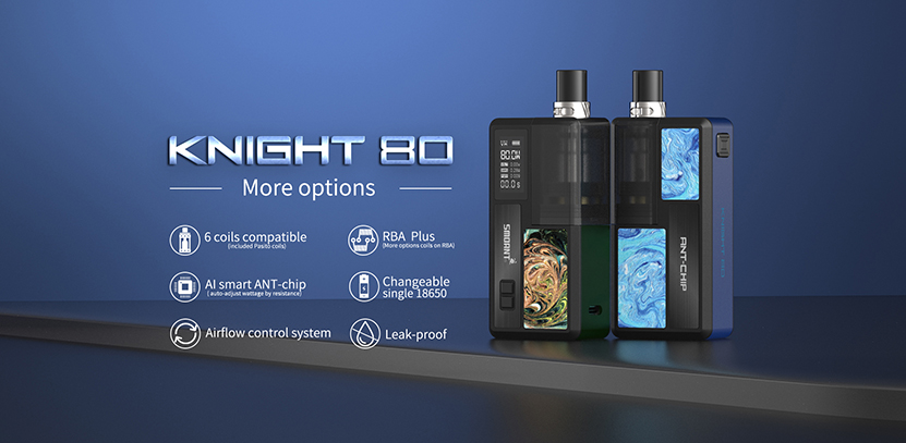 Smoant Knight 80 Kit Feature 8