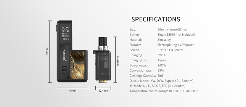 Smoant Knight 80 Kit Feature 10