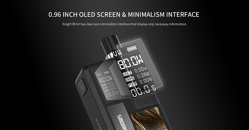 Smoant Knight 80 Kit Feature 9