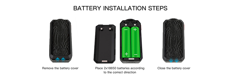 Smoant Ladon Kit Battery Installation