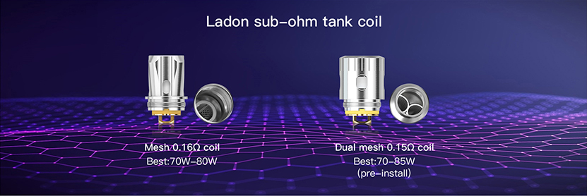 Ladon AIO 2in1 Kit Coil
