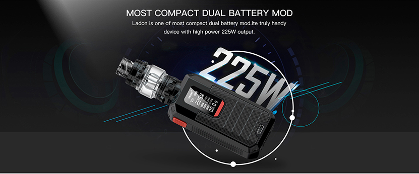 Ladon Kit Dual Batteried Mod