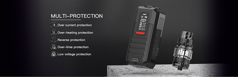 Smoant Ladon AIO Box Mod Kit Protections