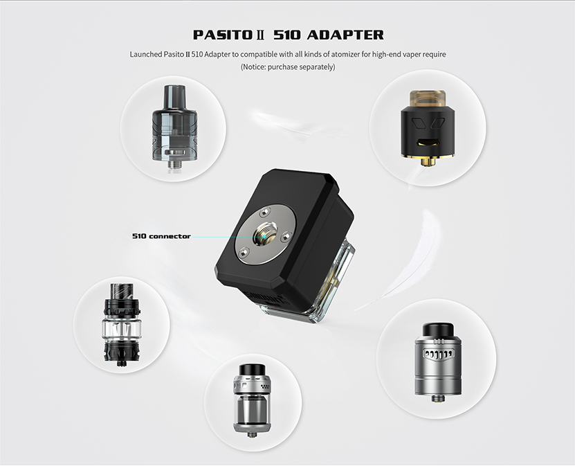Smoant Pasito II Kit 510 Connector