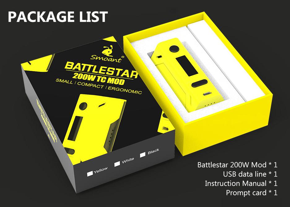 Battlestar 200W TC Mod