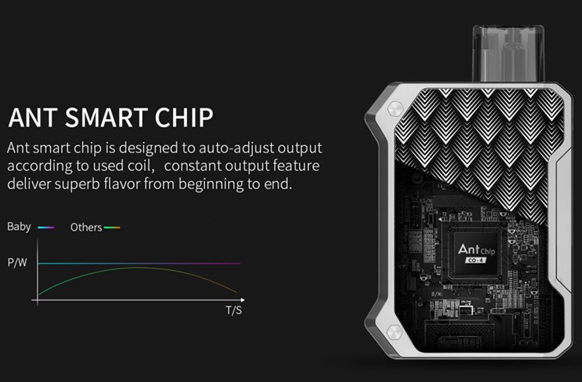 Smoant Battlestar Baby Pod Kit Chip