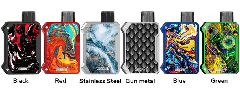 Smoant Battlestar Baby Pod Kit Full Colors