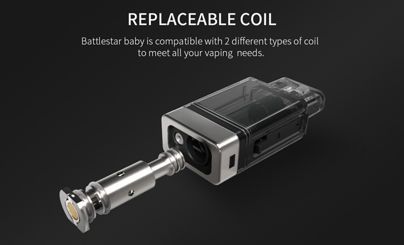 Smoant Battlestar Baby Pod Kit Replaceable Coil