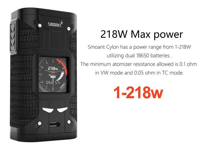 Cylon 218W TC Box Mod