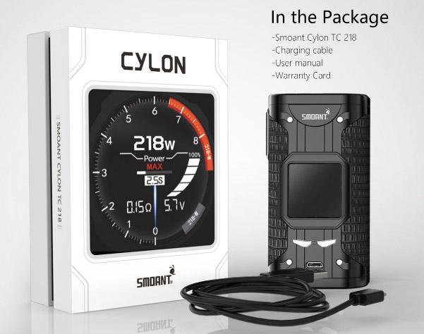 Cylon 218W Mod