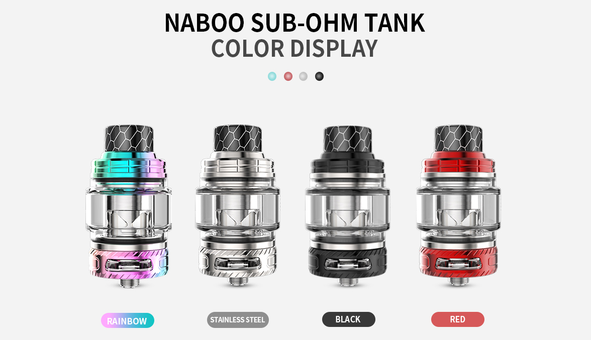 Smoant Naboo 225W Kit Features 12