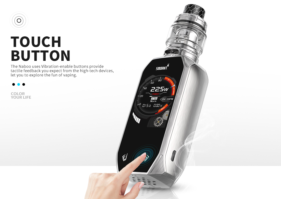 Smoant Naboo 225W Kit Features 05