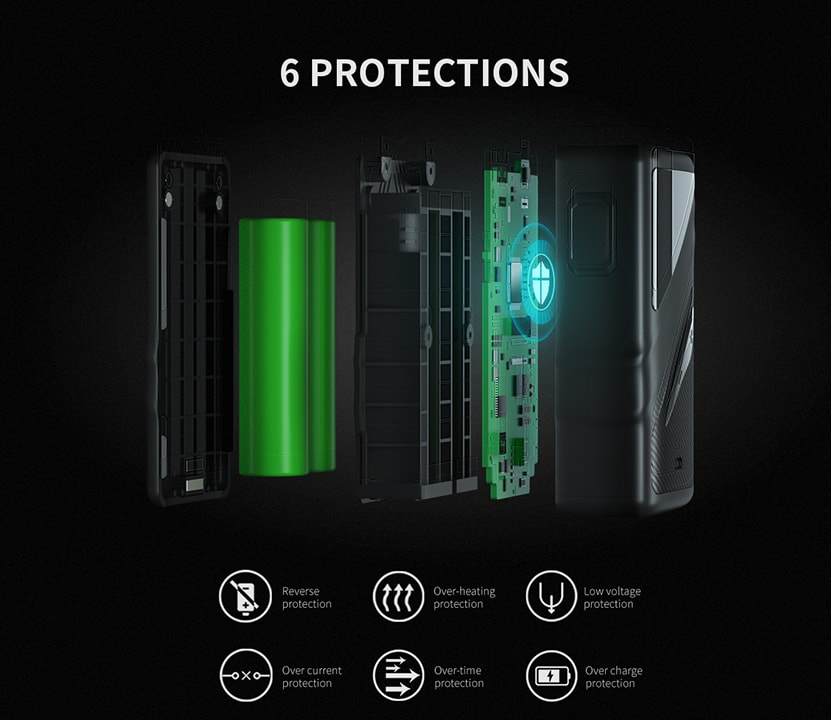 Smoant Taggerz Kit Protections