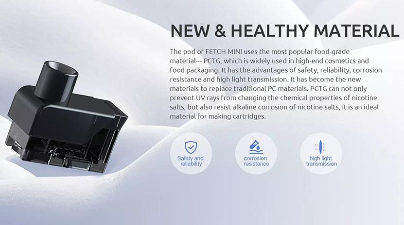 SMOK Fetch Mini Empty Pod Cartridge Introduction
