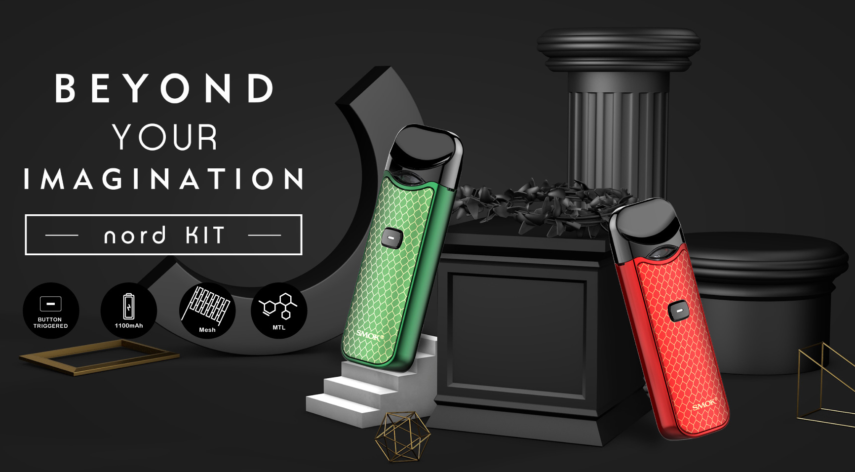 SMOK Nord Vape Pod Kit Features 1