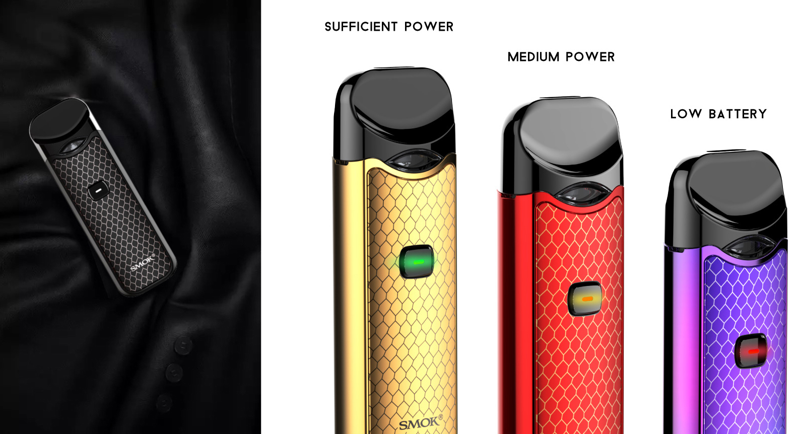 SMOK Nord Vape Pod Kit New Color Features 10
