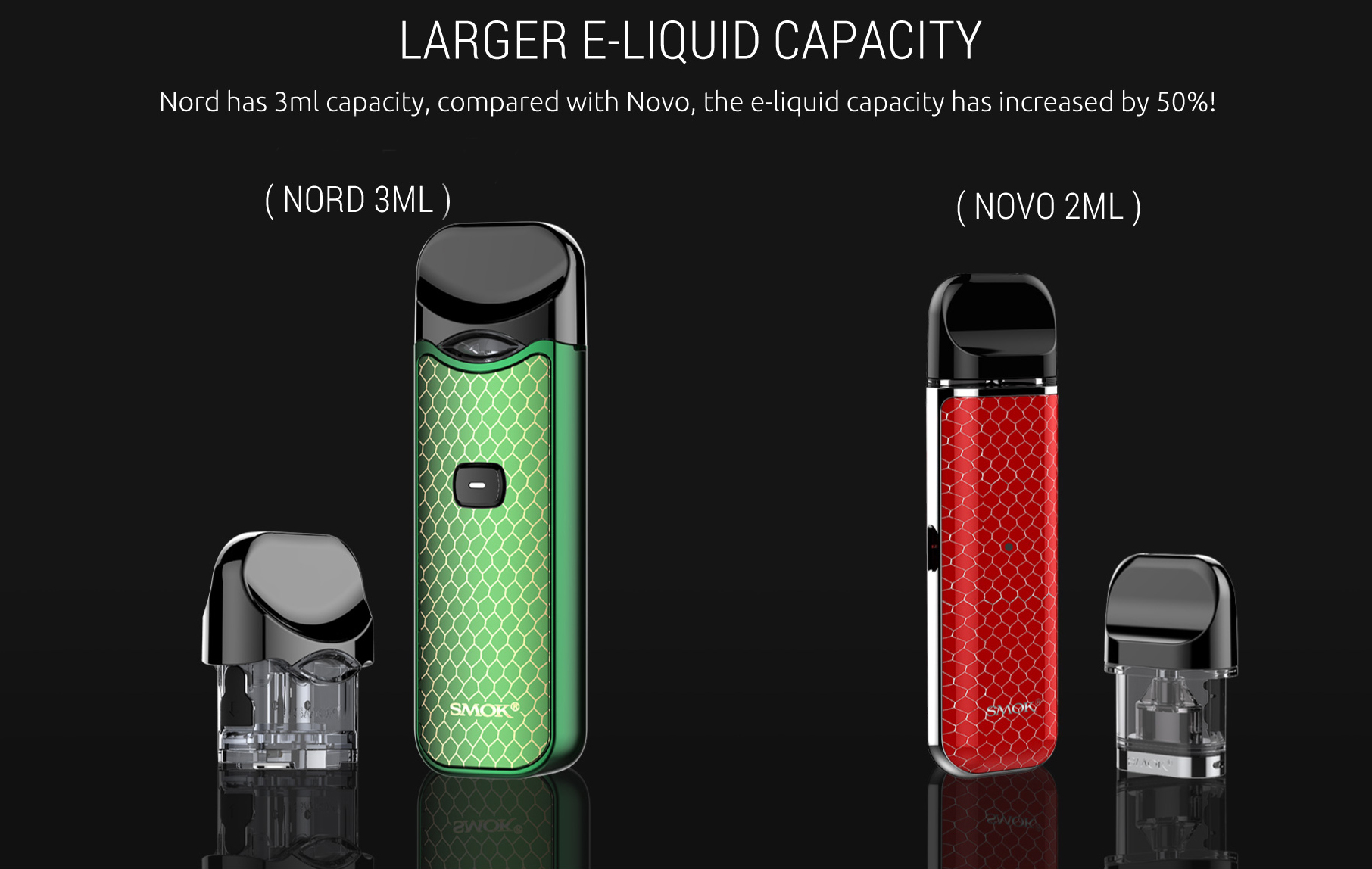 SMOK Nord Vape Pod Kit New Color Features 7