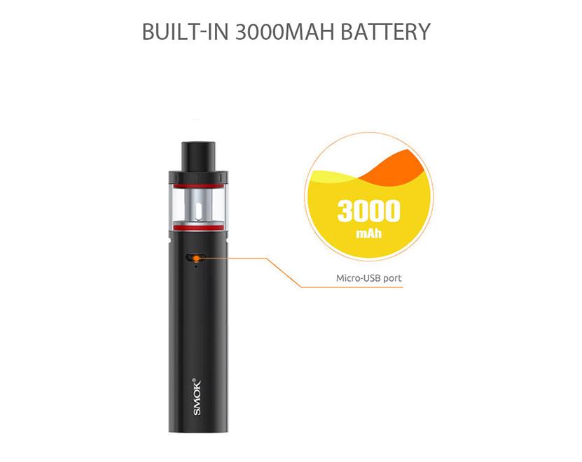 Smok Vape Pen Plus Kit Battery