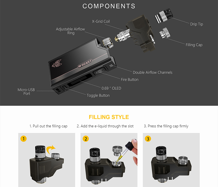 Wocket Pod System Kit Features 07