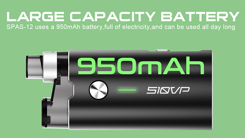 Spas-12 Pod System Kit battery