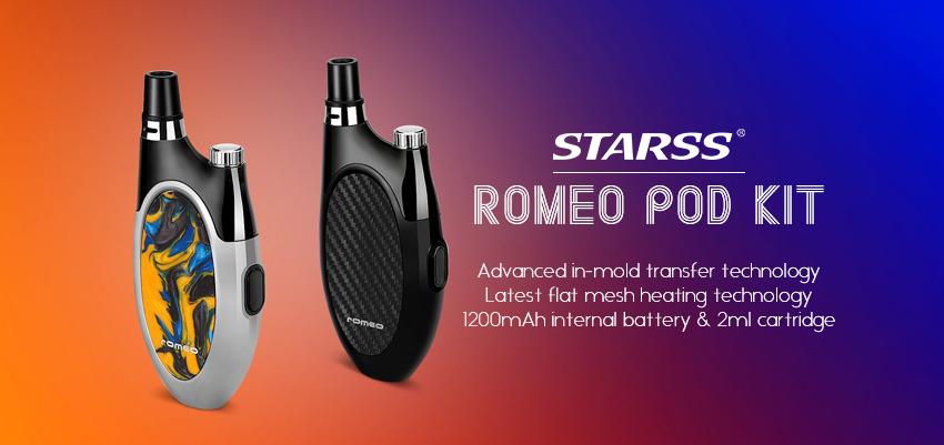 Starss Romeo Pod Kit Banner