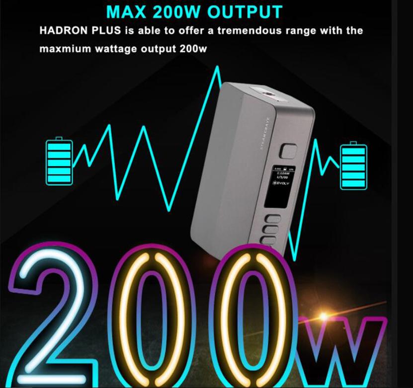 Steam Crave Hadron Plus DNA250C Combo Kit Feature 1